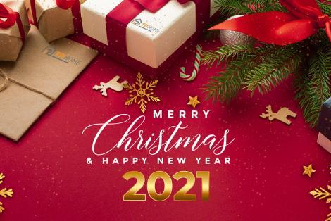TPhome chúc mừng Giáng sinh & Năm mới 2021