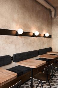 Coffee Shop Phong Cách Châu Âu