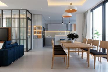 Trọn gói thiết kế & thi công nội thất nhà phố hiện đại Quận Bình Thạnh