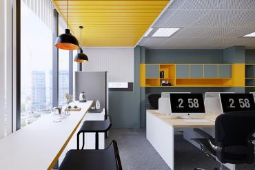 Interior Design Of Sunfly Media Modern Office