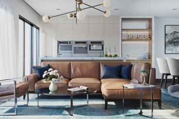 Nội thất căn hộ phong cách hiện đại cực đẹp